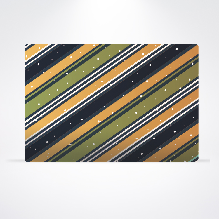 Paper Placemat - Holiday Stripes