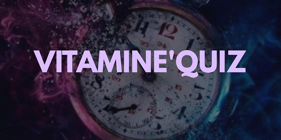 """Vitamine'Quizz """"le voyage dans le temps"""""""