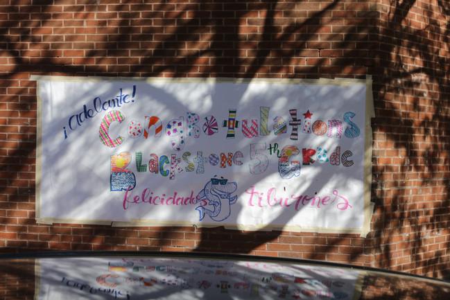 Congratulations 5th Grade!