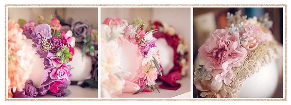 Newborn Studio Props - Sitter Flower Bonnets
