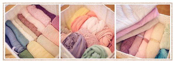 Newborn Studio Props - Custom Wraps & Fluffs