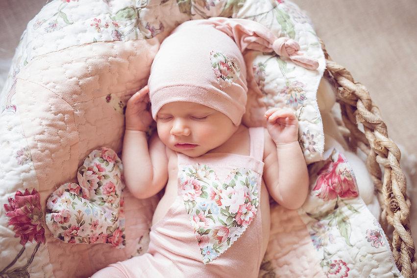 Newborn Posed Session