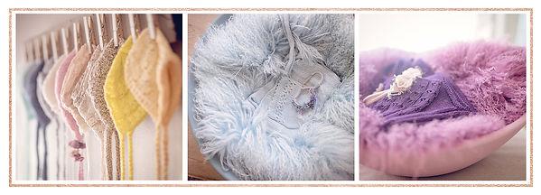Neworn Studio Props - Knittd Bonnets & Bowls