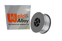 Soldadura Weld & Alloy E71t sin gas