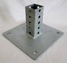 "Sign Post Base - 2"" Square Steel"