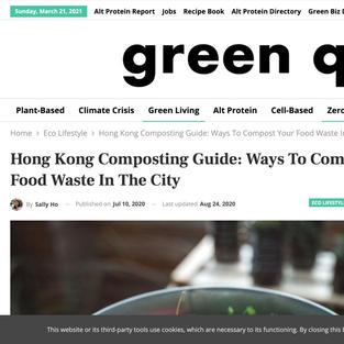 """""""Hong Kong Composting Guide"""""""