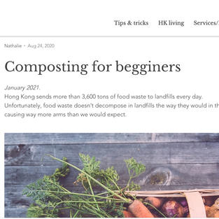 """""""Composting for beginners"""""""