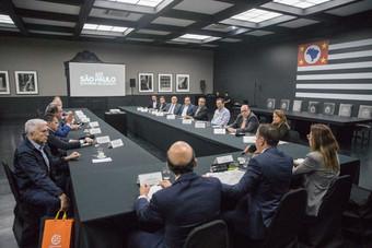Brigagão vai a SP para agenda com presidentes do SEBRAE/SP, CETESB e INVESTSP