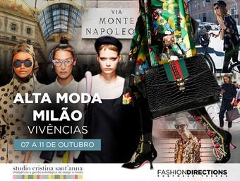 Hot Spot Milão: entidade responsável pela Milano Fashion Week mostra bastidores da moda italiana em