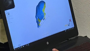 ANCIENT SKULL SCANNED FOR 3D PRINT REPLICA