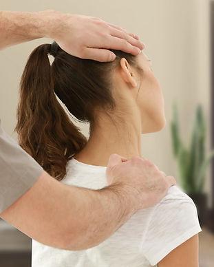 Thai Yoga Massage Nacken