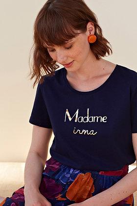 T-shirt Ilda - Marine - Des Petits Hauts