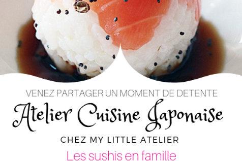 Atelier Cuisine Japonaise - Les sushis en famille