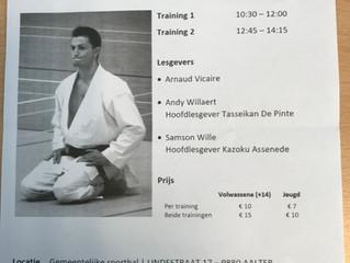 Trainingsdag te Aalter, O.l.v. Arnaud Vicaire