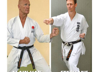 Onze sensei in het shotokan karate magazine.!!!
