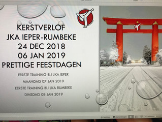 kerstvakantie JKA Ieper-Rumbeke