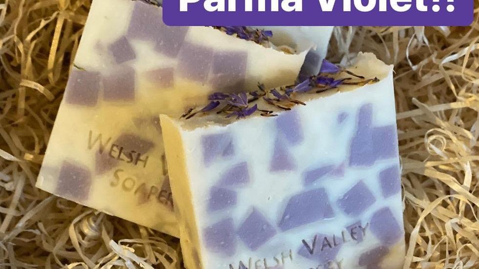 Parma Violet Fragrance Oil Soap