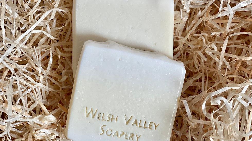 Dowlais White pure olive oil soap
