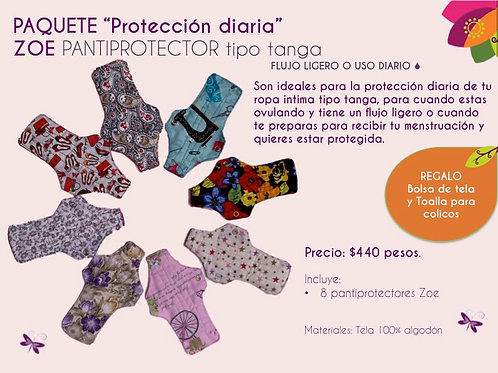 PAQUETE PROTECCION DIARIA ZOE