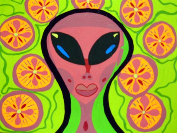 Psychadelic Alien