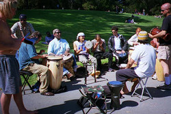 Hippie Hill Drum Circle
