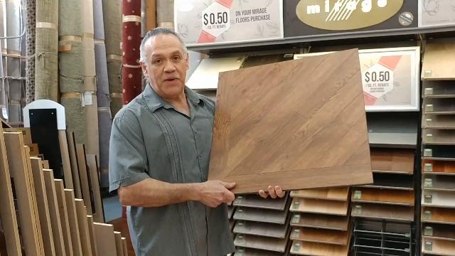 Solid Vinyl Flooring by Tom Elizald