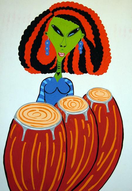 Sister of Drum Priestess