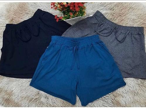 Shorts de Malha Visco-Lycra (mínimo 12 pçs)