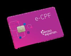 Cartão e-CPF - Certificado Digital