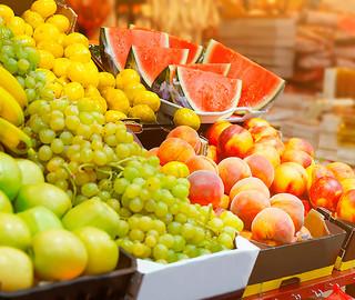 Frutas com 17% de desconto