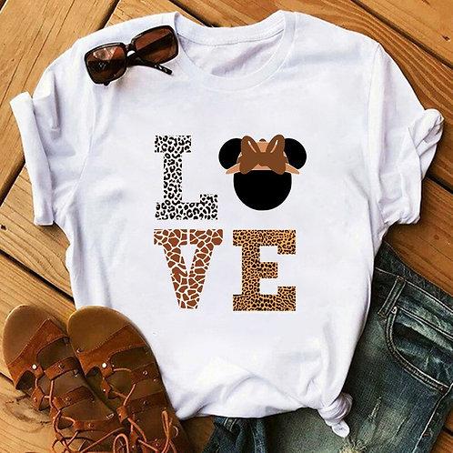 Camiseta Feminina Fashion Love