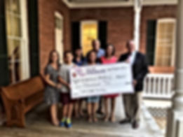 Trinity Love Hoblit Foundation donation presentation to St. Michael Academy SMA Lead the Way