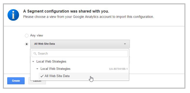 google analytics guide spam view