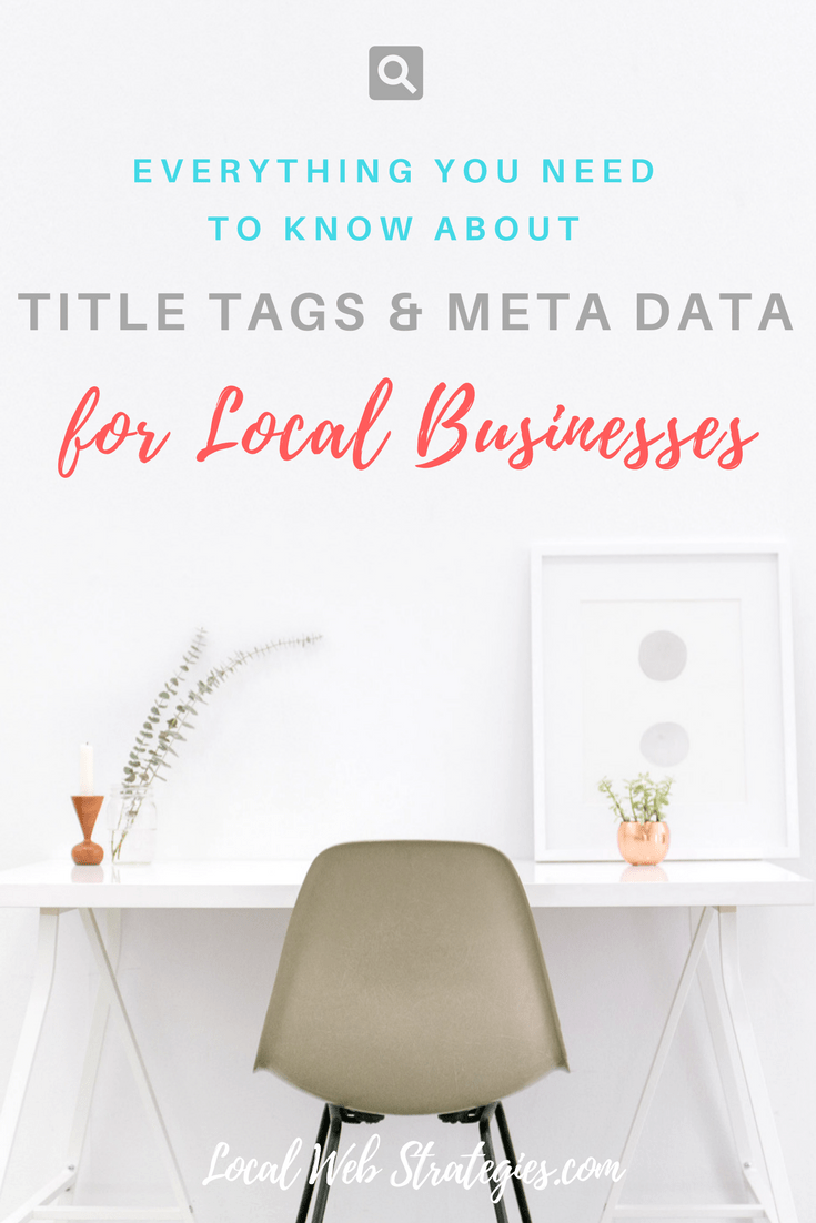 title tags meta data local businesses