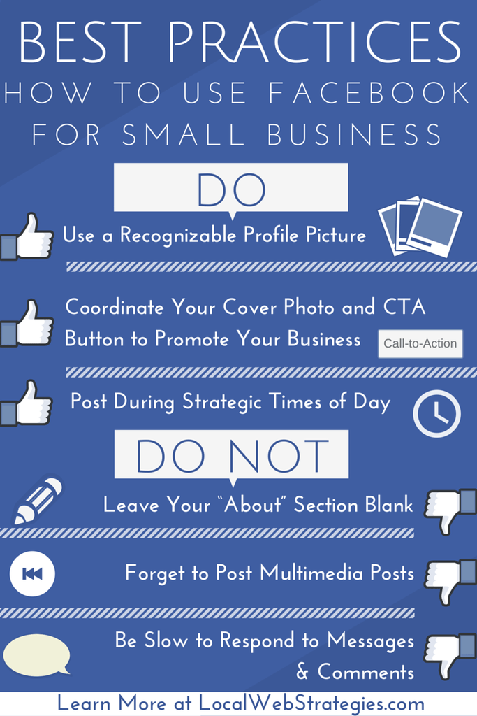facebook for small business best practices