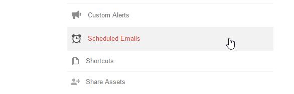 google analytics guide email scheduled