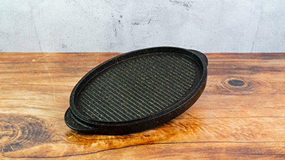 Grill Ovale Double Face