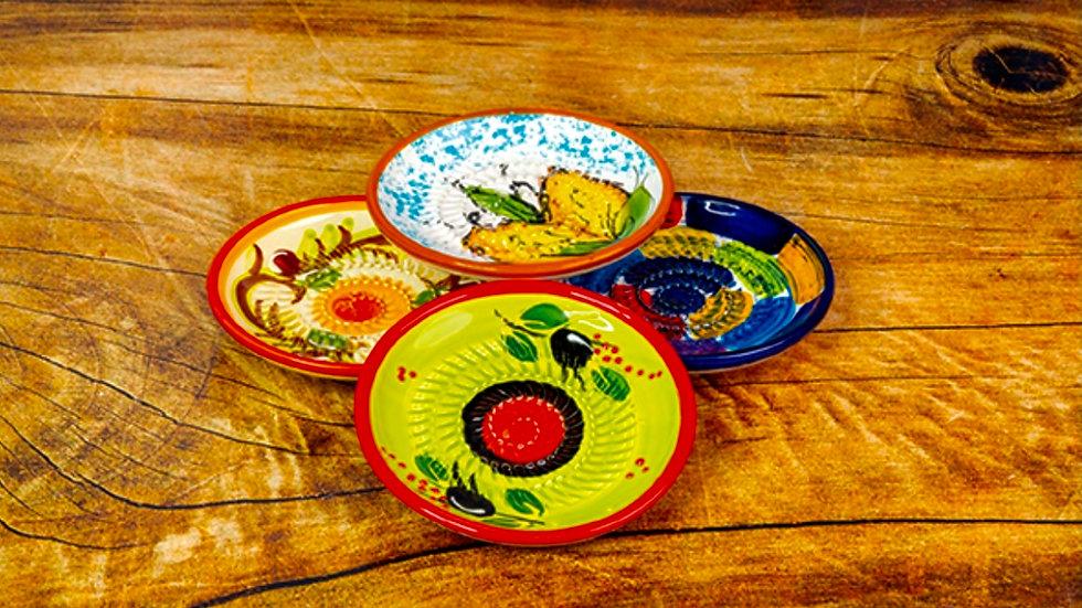 Piattino Grattugia in Ceramica