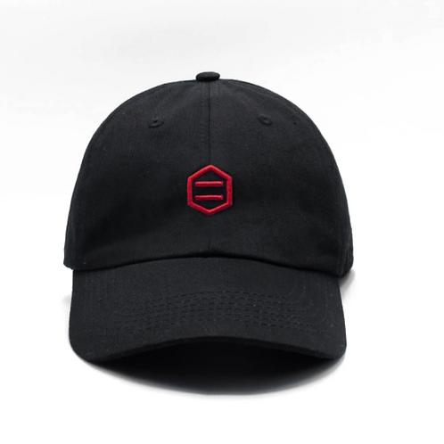 Black & Red Dad Hat