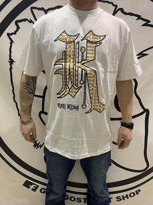kali king oro-wht tshirt