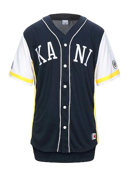 maglia baseball KARL KANI navy