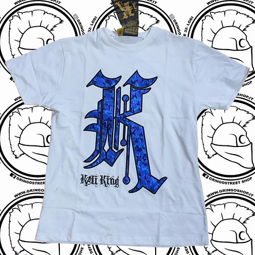 T-SHIRT KALI KING   WHT/BLU