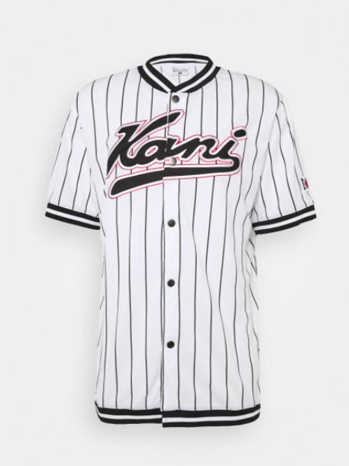 maglia baseball KARL KANI stripe