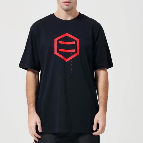Hexagon Black & Red