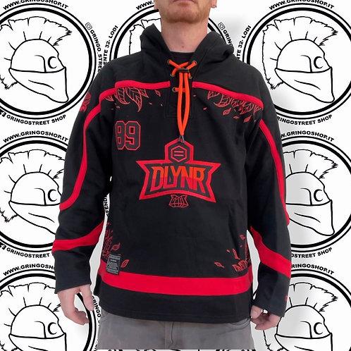 GOAT Hockey Hoodie Sport Oversize Red