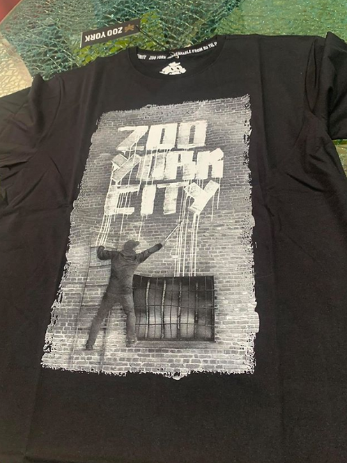 T-SHIRT ZOOYORK BLACK