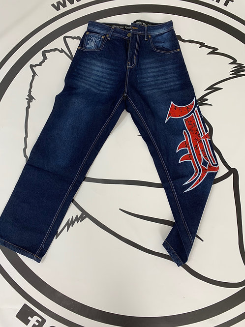 kali king red jeans