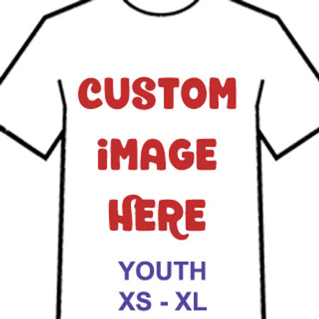 Custom T-shirt - Youth XS-XL