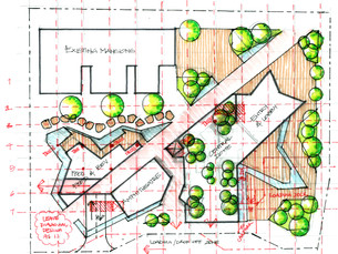 Site development sketch