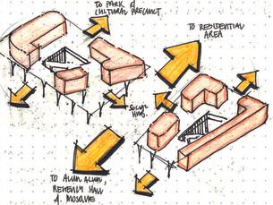 Form and circulation sketch